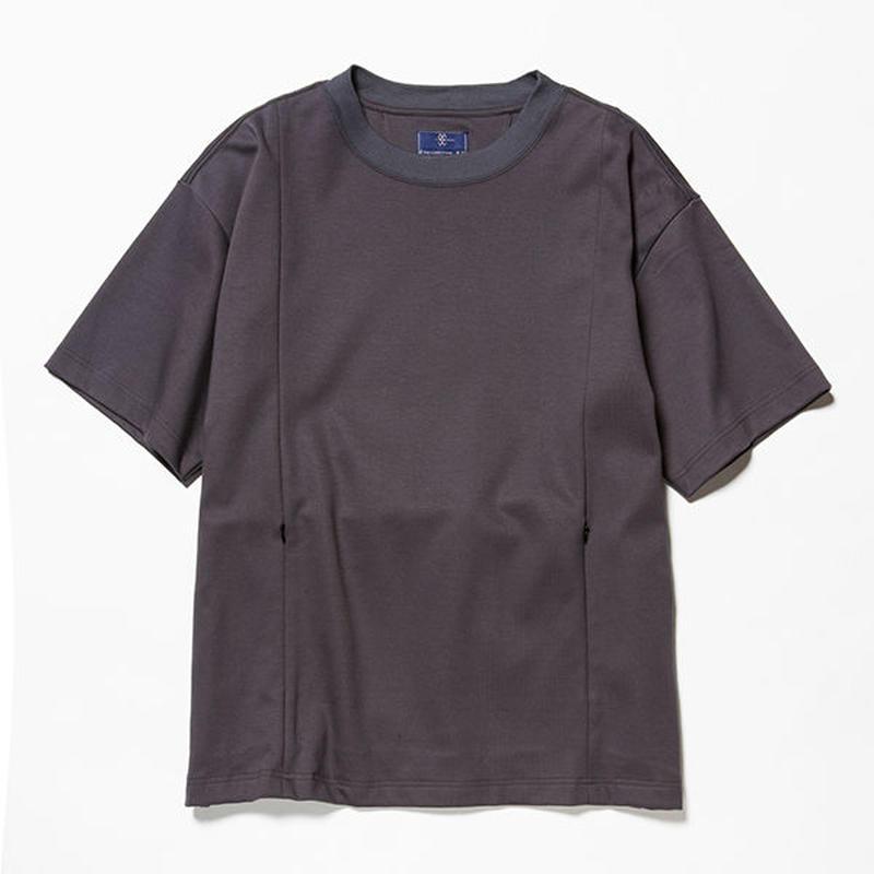 GIZA Cotton Sack Tee/CHARCOAL [MW-CT18201]