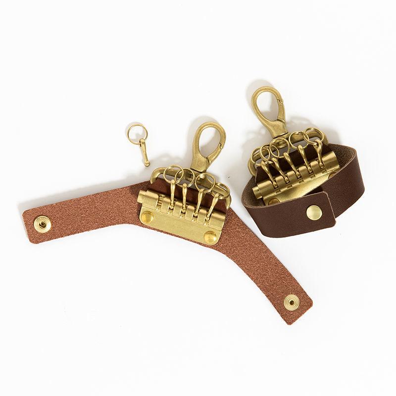 Leather Key Ring [MW-AC16101]