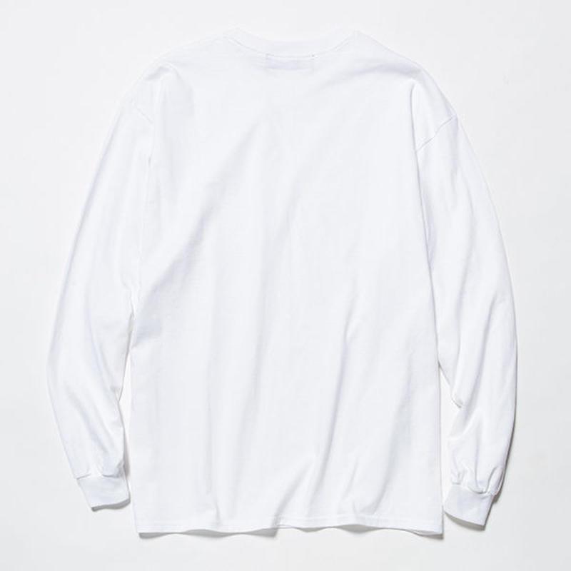 Anti-Stain 2 Pack L/S Tee/WHITE [MW-CT18206]