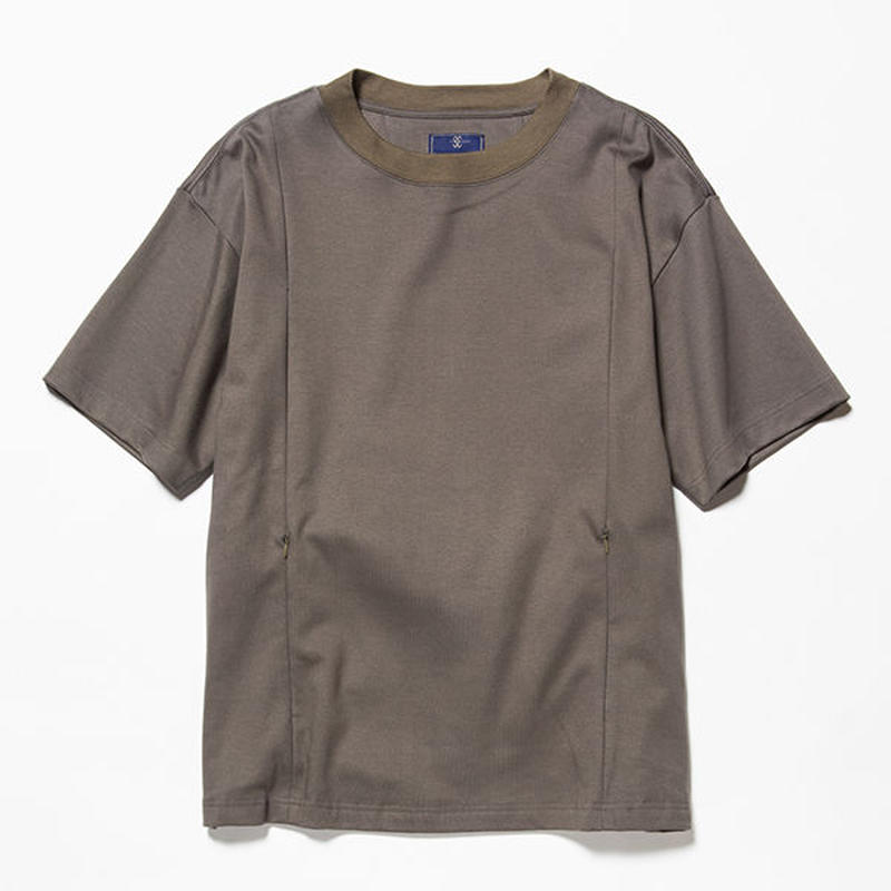 GIZA Cotton Sack Tee/OLIVE [MW-CT18201]