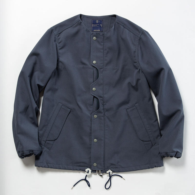"Odd Job Flap ""Sashiko"" JKT/BLUE GREY [MW-JKT18101]"