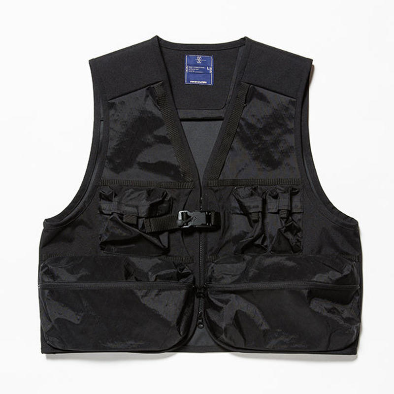 X-Pac/Cordura Luggage Vest/BLACK [MW-JKT18203]