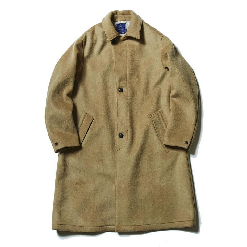 Double Melton Over Coat/KHAKI [MW-JKT16204]