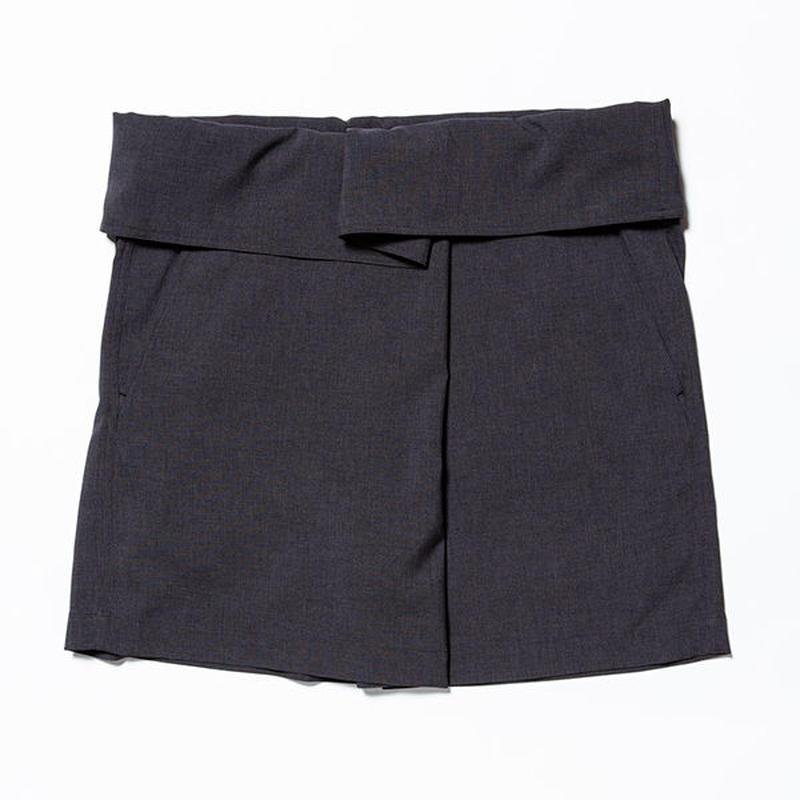 Easy Wrap Shorts/COAL [MW-PT19106]