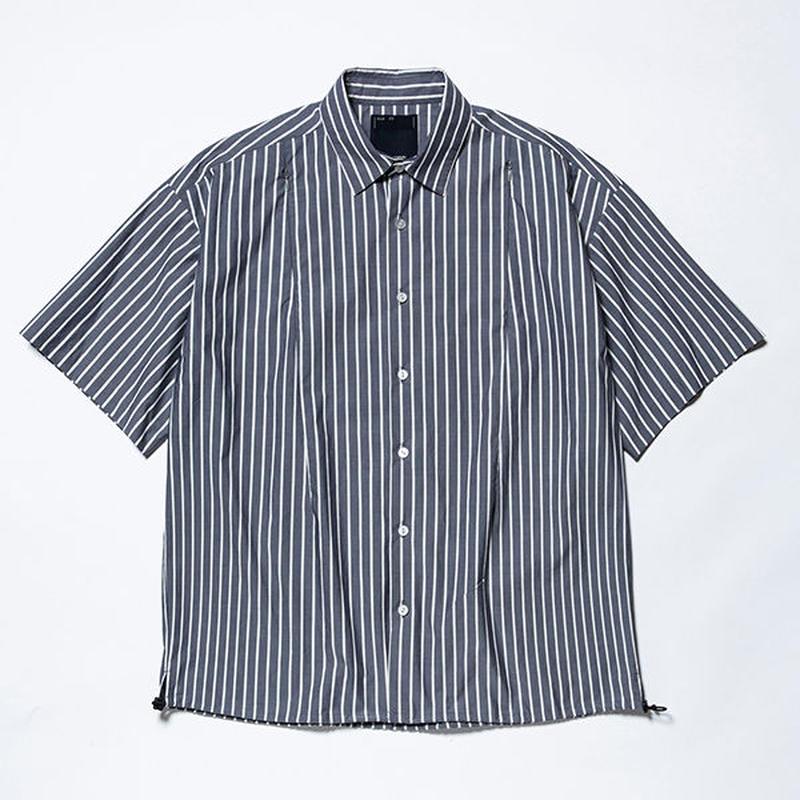 Stripe Ventilate S.S/NAVYxWHITE [MW-SH19106]