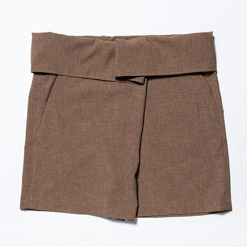 Easy Wrap Shorts/TAN [MW-PT19106]