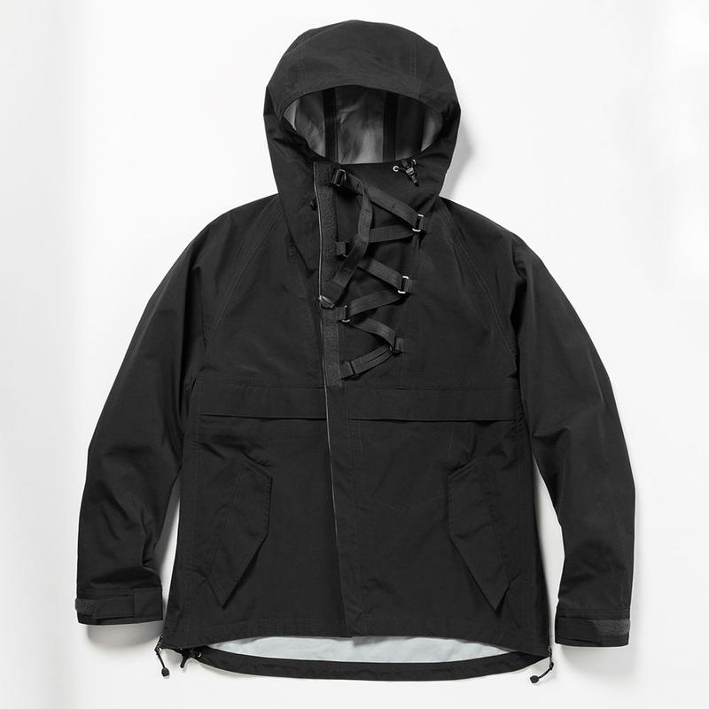 3 Layer Anorak OP/OFF BLACK []MW-JKT19109]