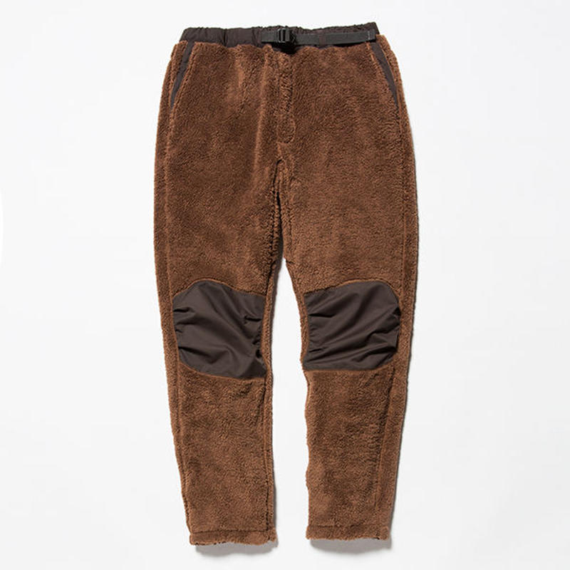 Behavior Fleece Pants/BROWN [MW-PT18205]