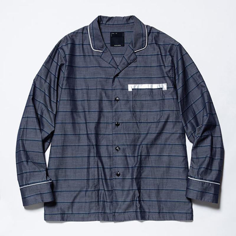 Field Pajama SH/NAVYxWHITE  [MW-SH19101]