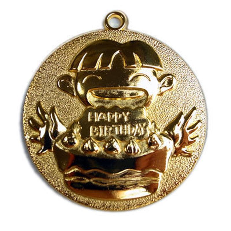 お誕生日メダル男の子