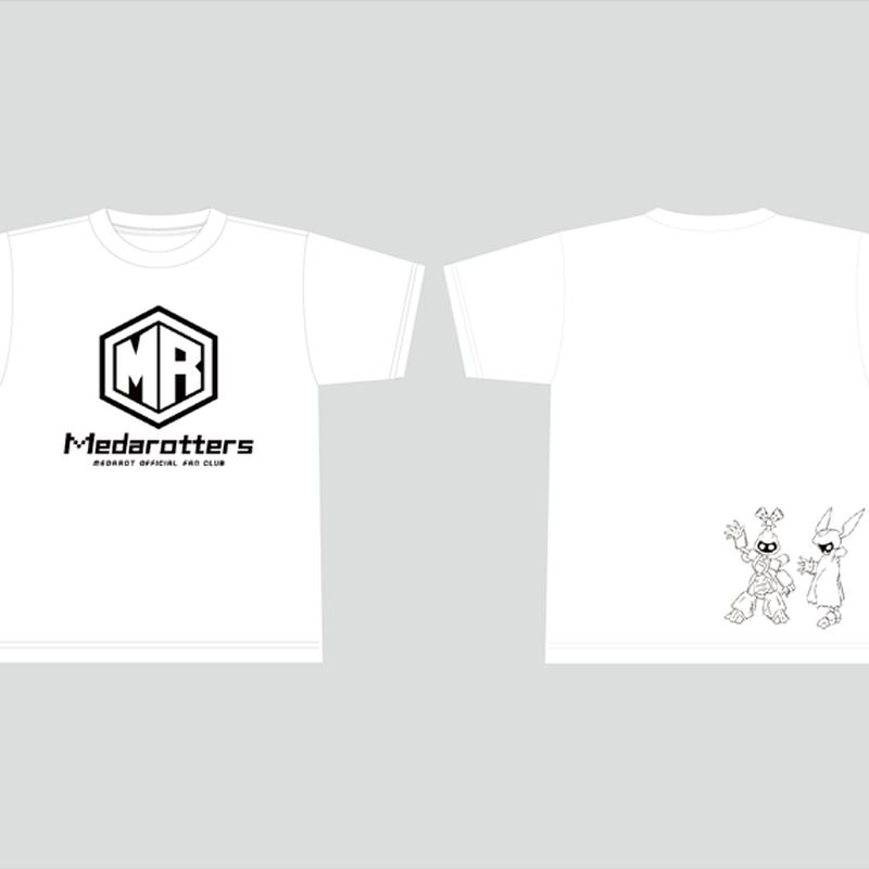 【数量限定再販:3月発送】メダロッターズTシャツ_ホワイト-MDST018-