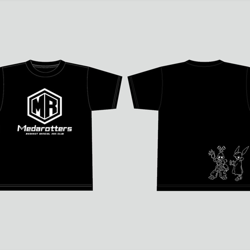 【数量限定再販:3月発送】メダロッターズTシャツ_ブラック-MDST015-