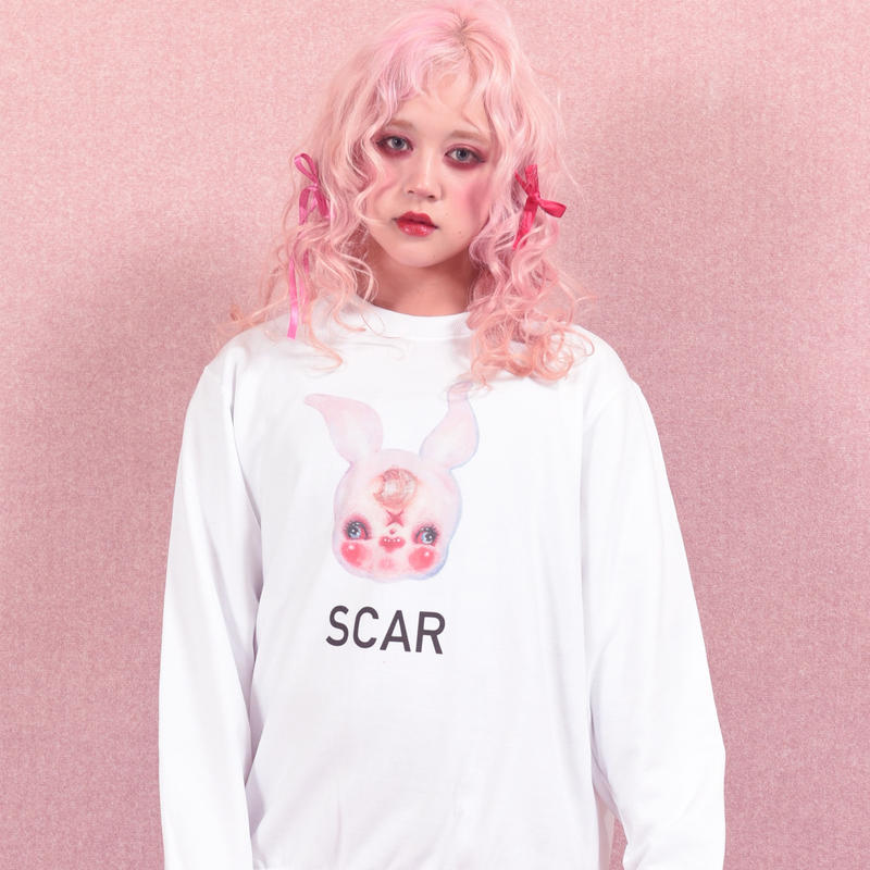 mimi SCAR sweat type B(襟なし)