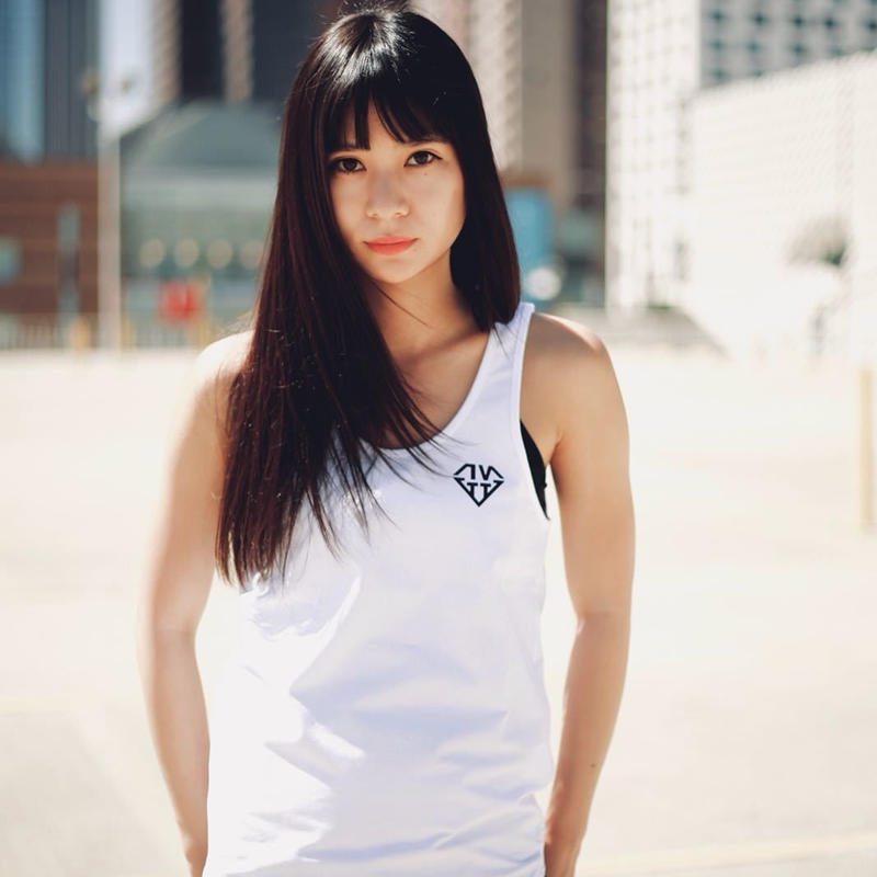 [Limited Edition] IVTT Diamond Logo Tanktop:White