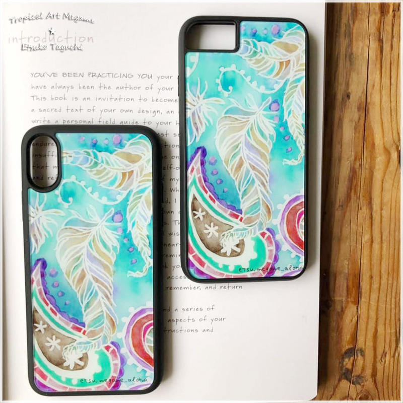 new!iPhoneケースpaisley
