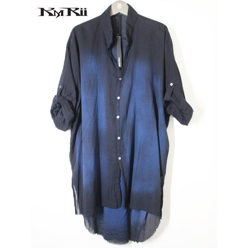 KMRii ・ケムリ・ Oversized Crepe Shirt 2019・ビックシャツ