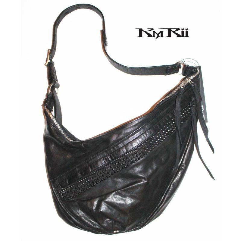 KMRii ・ケムリ・ 2019・Double Zip LA Bag 02・ボディーバッグ