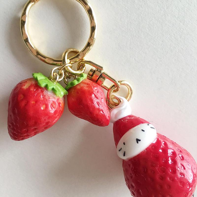 苺ぼうやキーホルダー/ストロベリー