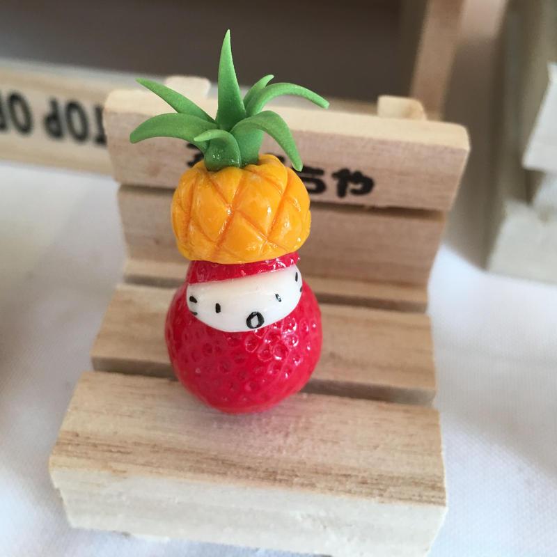 苺ぼうやマスコット/パイナポー