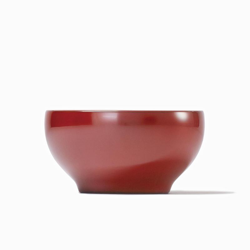 めぐる・日月(花塗り:赤) <単品・中>