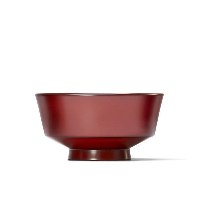 めぐる・水平(花塗り:赤) <単品・中>