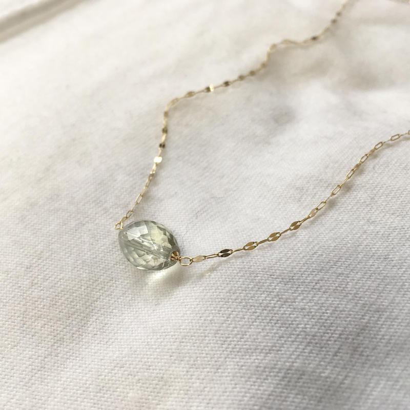 Green Amrthyst K10 Necklace