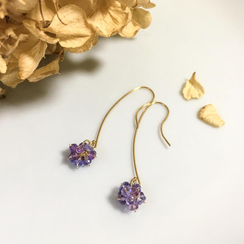 hydrangea pierce [purple]