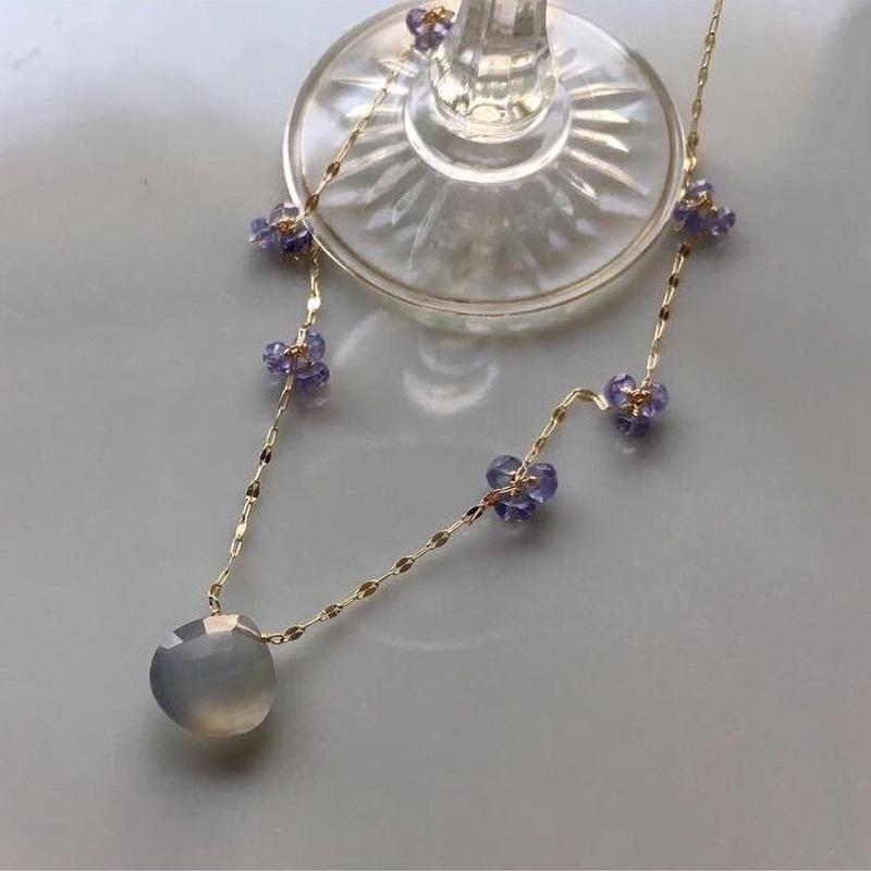BonBon Blue K10 Necklace