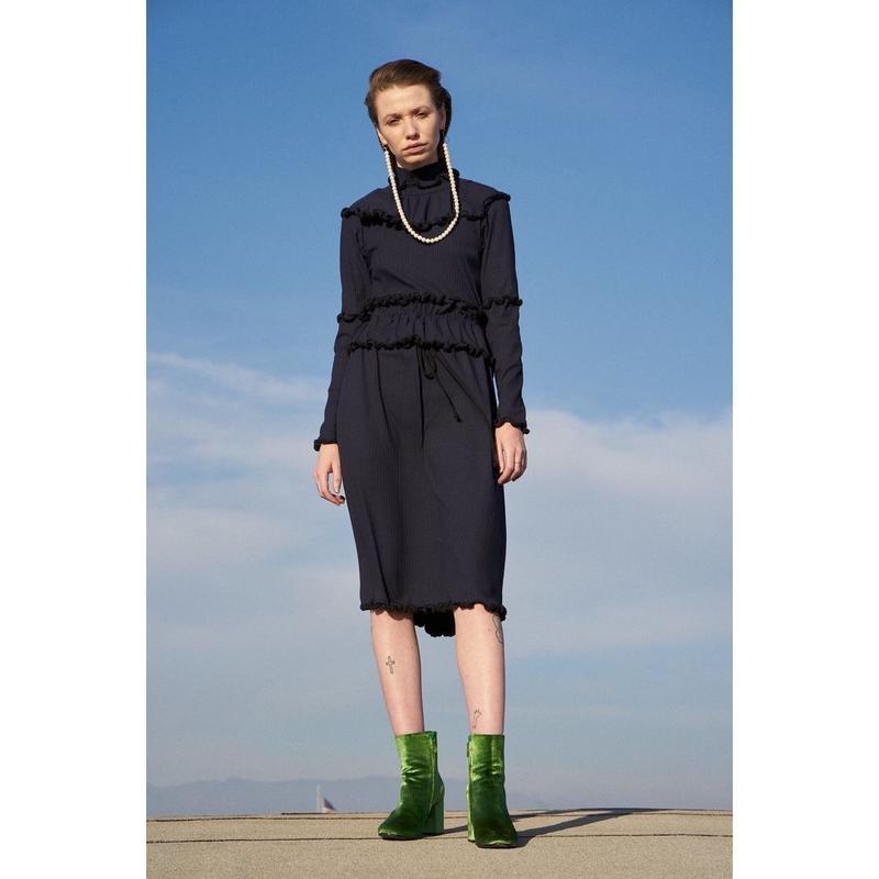 DESIREE KLEIN《Hudson dress》NAVY