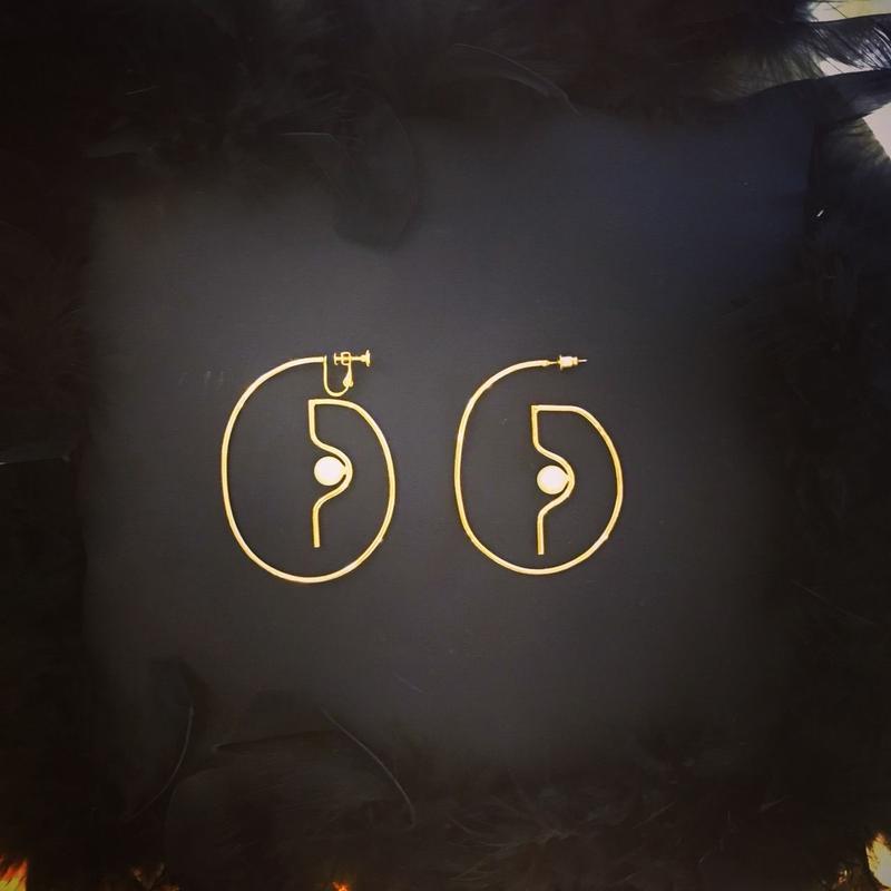 DECO depuis1985 DECO motif ear accessory