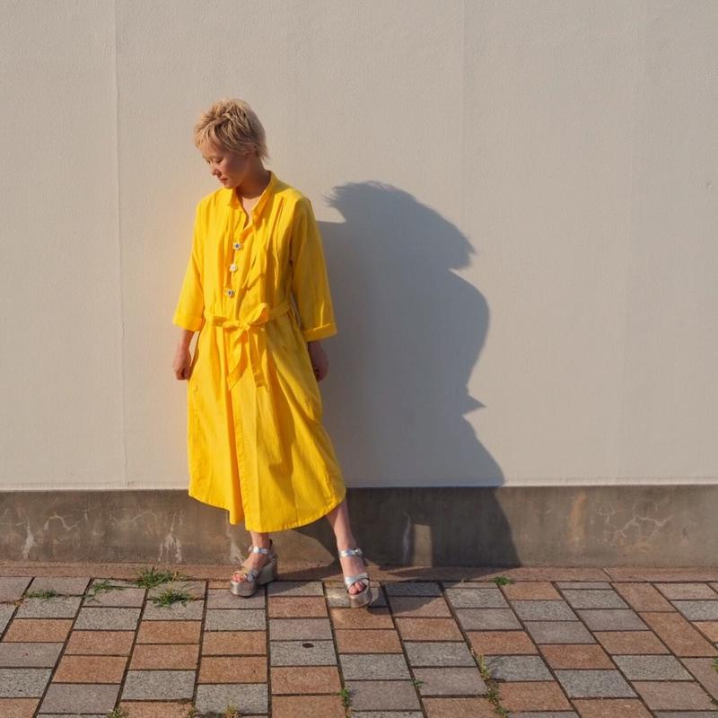 accidenteconflores sunflower dress