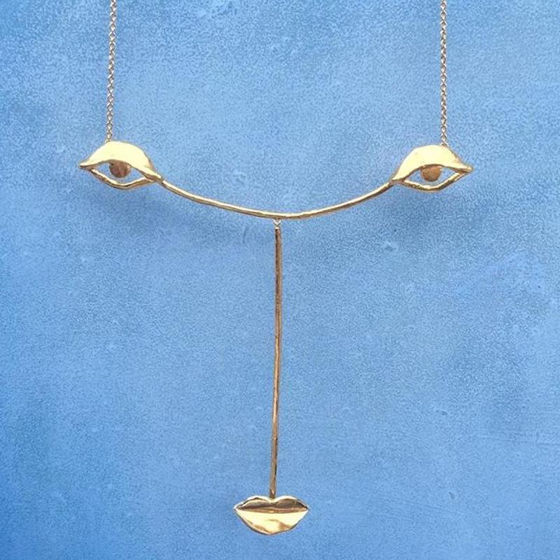 BJØRG Dora the muse necklace gold