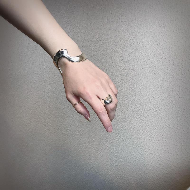 【Atlica】 silver  bangle