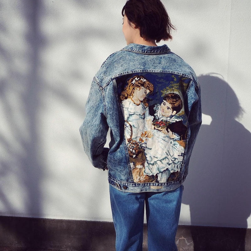 Frankie Customized Denim Jacket
