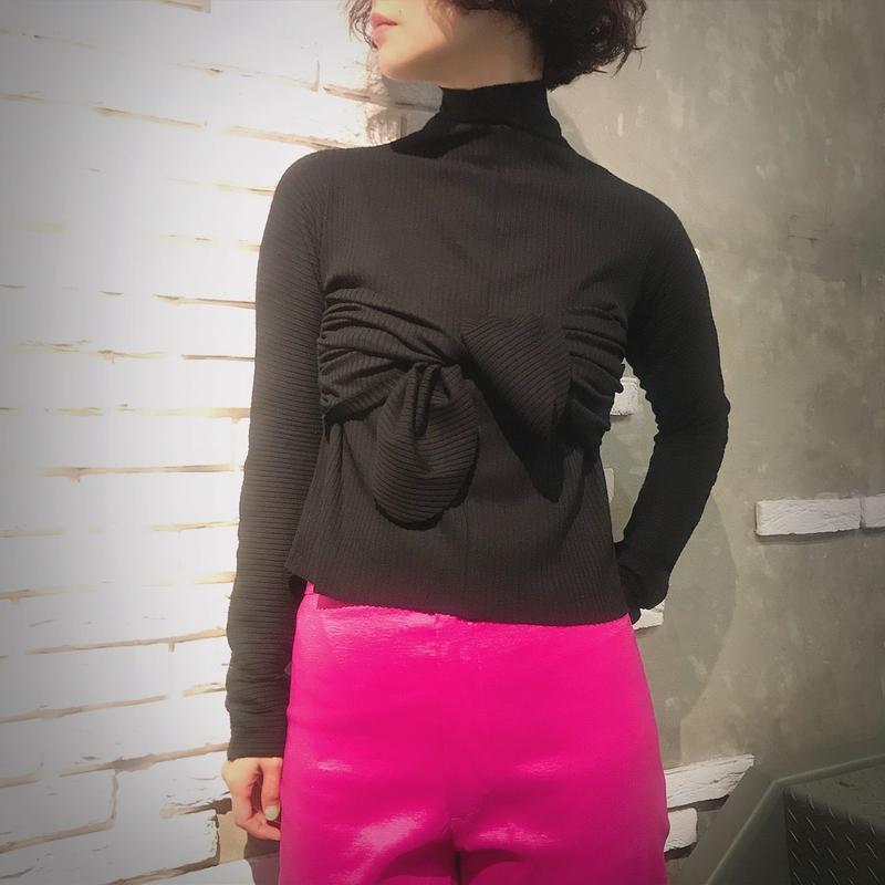 DESIREE KLEIN《bandeaux longsleev》black