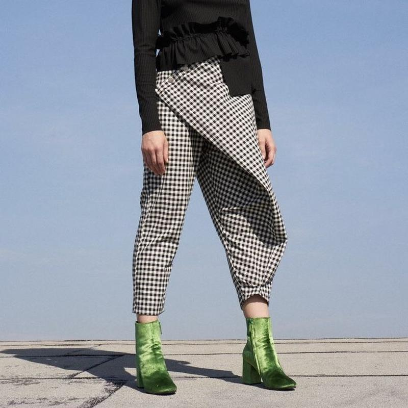 DESIREE KLEIN《sintra pants》pepperchecker