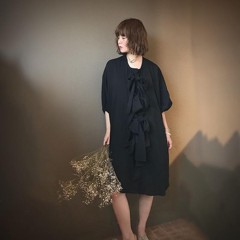 DESIREEKLEIN KINSKI DRESS(BLACK)