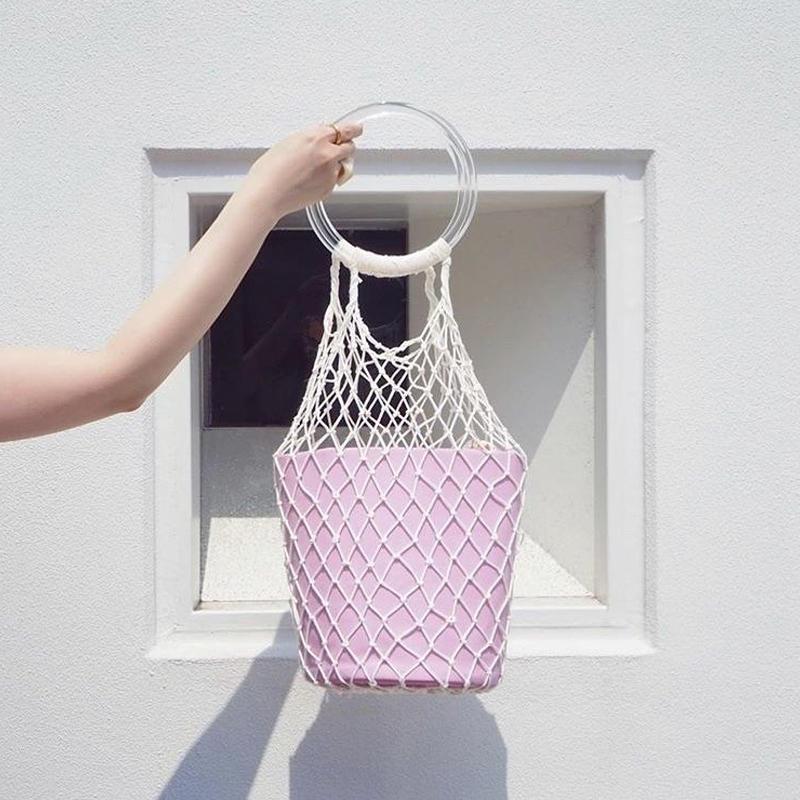 MALKA  MOMA×ondev fish net bag(M)
