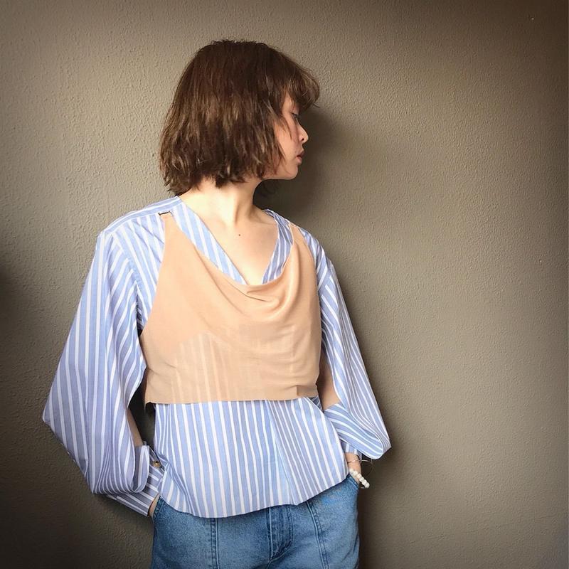 KOTOHA YOKOZAWA layered blouse