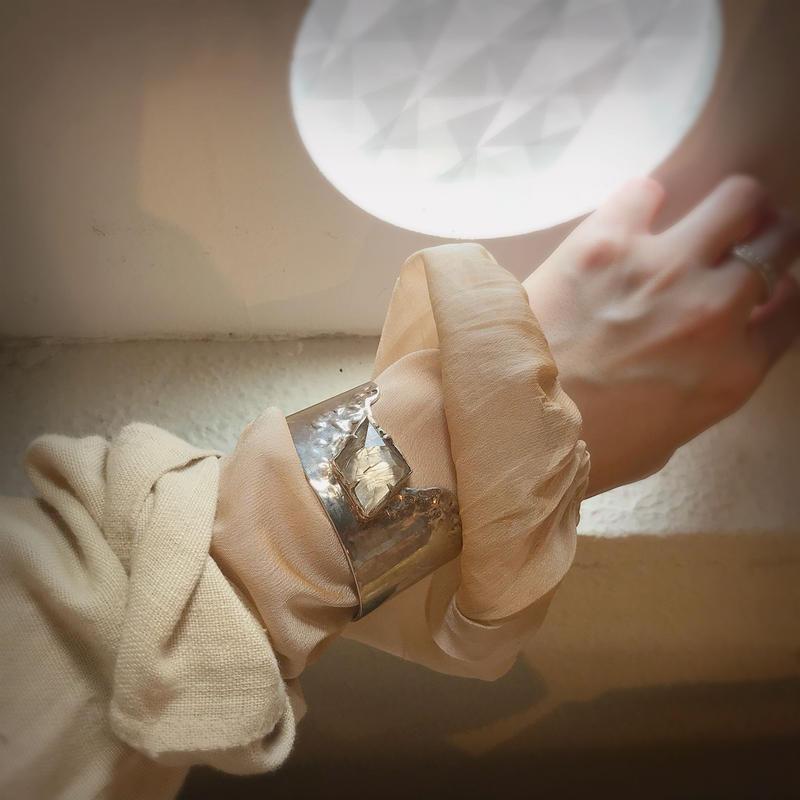 Atlica rutile quartz bangle