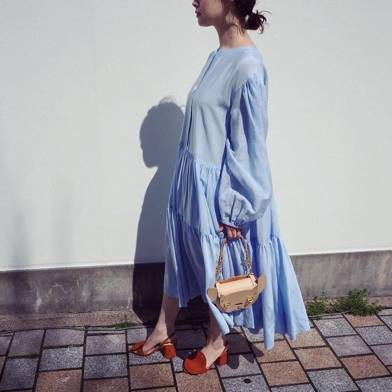 MINJUKIM Puff Layer Dress