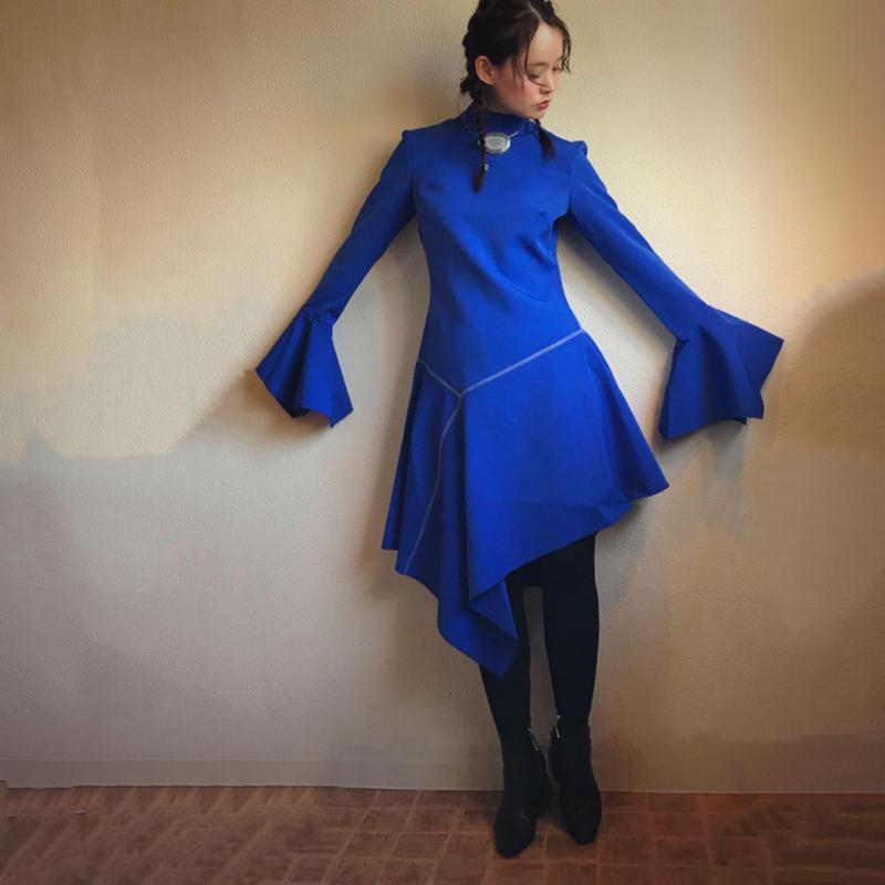 PAPER LONDON ruffle dress