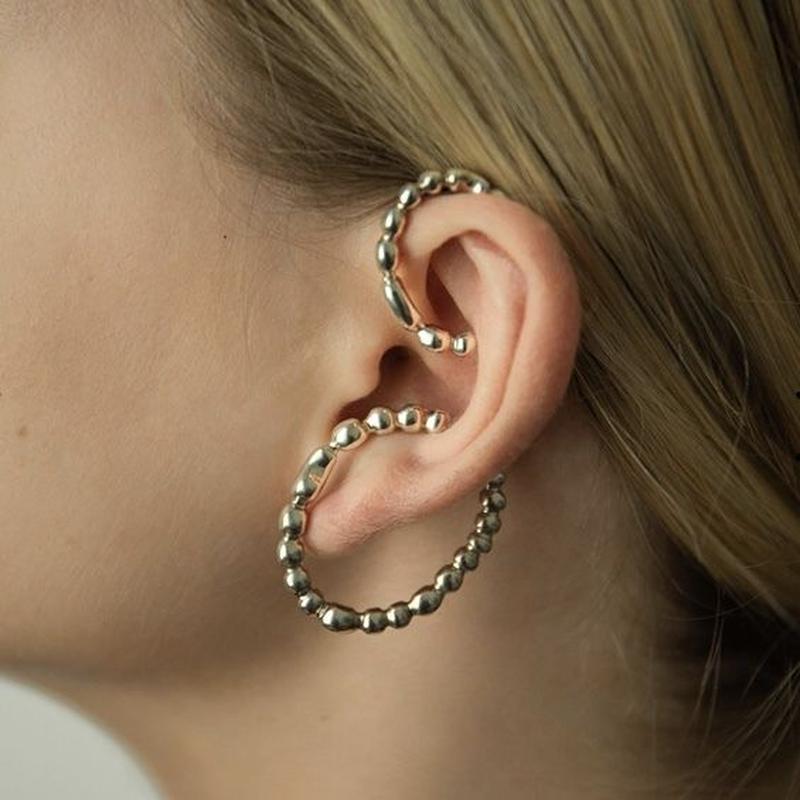 【Mara paris】memories ear cuff set(silver)