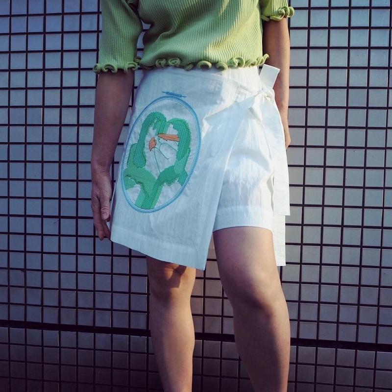 MINJUKIM Banding Short Pants