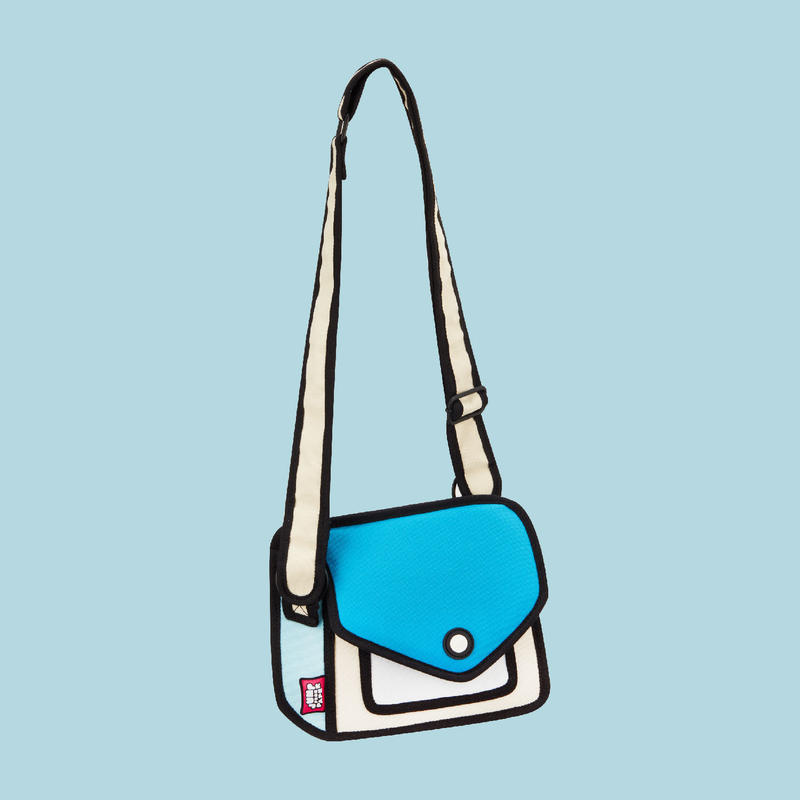 【Jump From Paper】JFP167 ショルダーバッグ(小)ブルー Color Me In Collection / Junior Giggle Shoulder Bag 正規輸入品