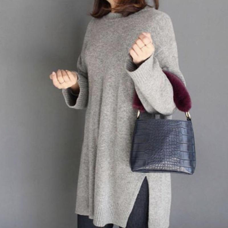 3color fur bag