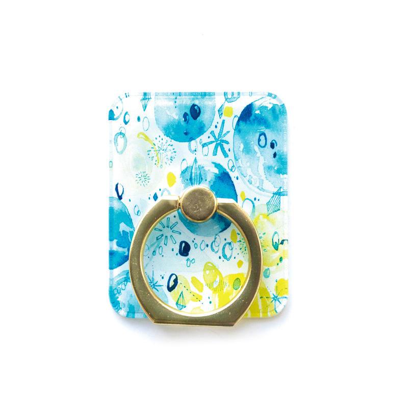 Smart phonr ring (Bluedrop x silver)
