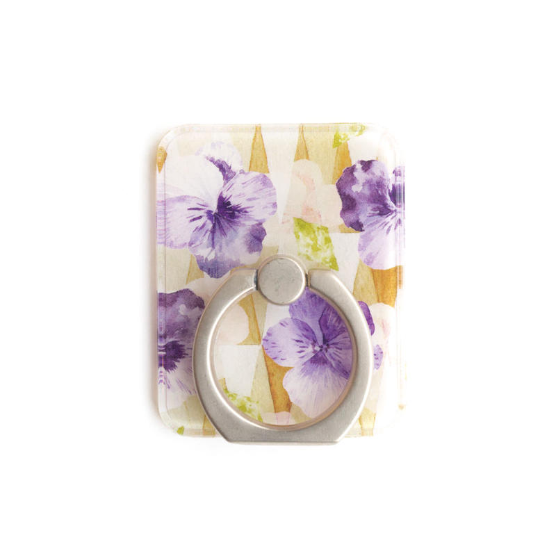 Smart phonr ring (Viola x silver)