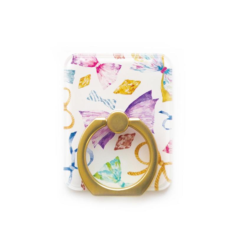 Smart phonr ring (Ribbon x gold)