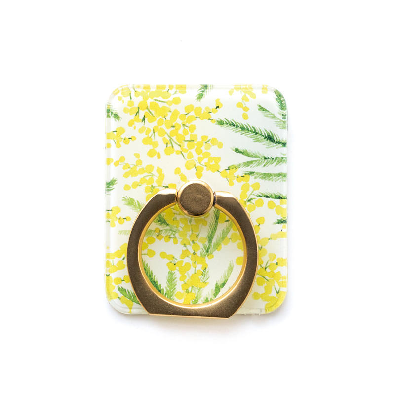 Smart phone ring (Mimosa x gold)